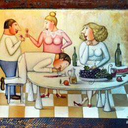 Картины, постеры, гобелены, панно - Феина картина. Я и Люся в Гарах., 0
