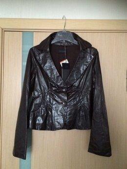 Жакеты - 44-46 размер Vespucci Italy коричневый кожаный…, 0