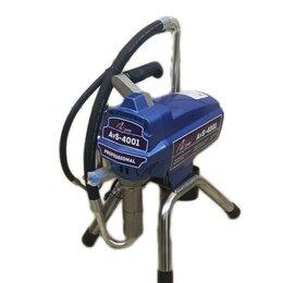 Электрические краскопульты - Безвоздушный окрасочный аппарат.AktiSpray AvS-4001, 0