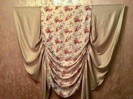 Шторы - Подъемная лондонская штора «Цветы» ШхВ 190х165, 0