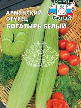 Семена - Тортарелло (Армянский Огурец) Богатырь белый…, 0