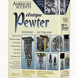 Аэрозольная краска - Античное олово (Antique Pewter Kit), 0