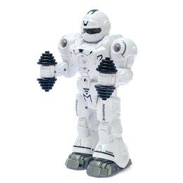 Роботы и трансформеры - Робот «Атлет», свет, звук, работает от бат., 0