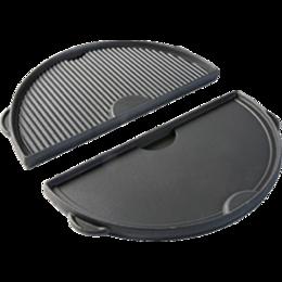 Сковороды и сотейники - Сковорода планча полукруглая чугунная для гриля L Big Green Egg, 0