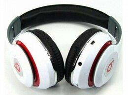 Наушники и Bluetooth-гарнитуры - Наушники Беспроводные Beats + Радио + Аукс + Микро, 0