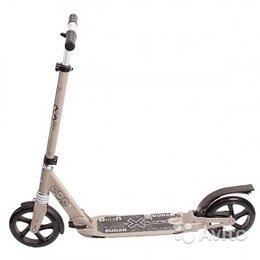 Велосипеды - Самокат для взрослых Explore Buran, серый, 0