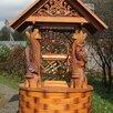 Домик на колодец сова-сорока по цене 105000₽ - Садовые фигуры и цветочницы, фото 3