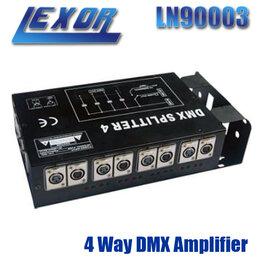Световое и сценическое оборудование - LEXOR LN90003 4 Way DMX Amplifier  блок…, 0