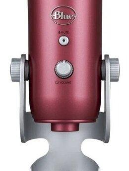 Микрофоны - Микрофон Blue Microphones Yeti Steel Red, 0