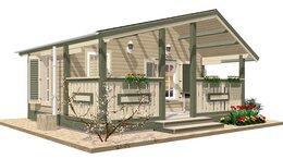Готовые строения - Дачный домик TEREMDOM №10, 0