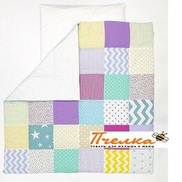 Одеяла - Одеяло лоскутное Цветные сны 108 х 108 см LoveBabyToys, 0