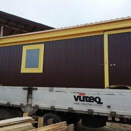 Готовые строения - Бытовка вагончик деревянный 6х2.30 коричневый, 0