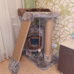 Лежаки, домики, спальные места - Домик когтеточка игровой, 0