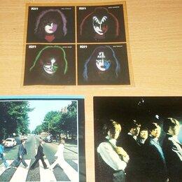 Музыкальные CD и аудиокассеты - Вкладки в LP, CD Mini-Vinyl - KISS / The BEATLES / The ROLLING STONES - , 0