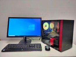 Настольные компьютеры - Игровой компьютер i3 10100f + Rx 570, 0
