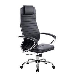 Компьютерные кресла - Новое кожаное кресло от компании Метта, 0