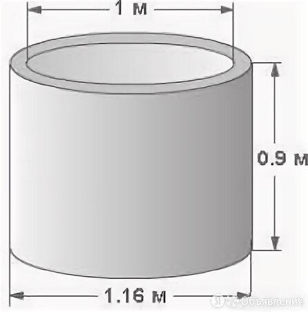 Кольцо железобетонное (КС 10.9) по цене 3100₽ - Железобетонные изделия, фото 0