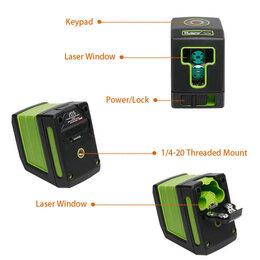Измерительные инструменты и приборы - Лазерный уровень Huepar T01G, 0