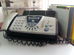 Проводные телефоны - Факс Brother FAX-T106, 0