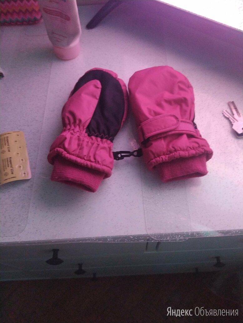 Варежки для девочки. Б/у по цене 200₽ - Перчатки и варежки, фото 0