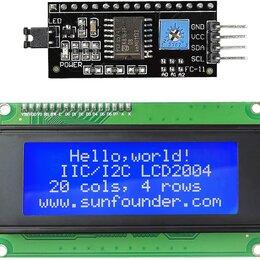 Дисплеи и тачскрины - Символьный дисплей LCD 2004 с I2C/SPI конвертером, 0