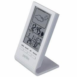 """Метеостанции, термометры, барометры - Метеостанция-часы   """"Angle"""", белый,(4855), 0"""