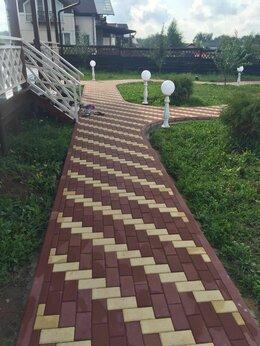 Тротуарная плитка, бордюр - Укладка тротуарная плитки, 0