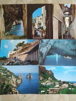 Открытки - 53 итальянские открытки 60-х годов. Виды Италии., 0