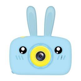 Видеокамеры - Детская камера Зайчик (голубой), 0