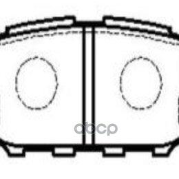 Тормоза - Колодки Тормозные Дисковые Зад. (Нов Арт Gk1000..., 0
