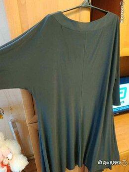 Платья - оригинальное графитовое трикотажное платье, 0