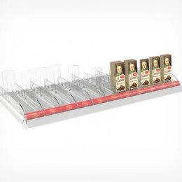 Прочее оборудование - Набор из 11 лотков для выкладки плиточного шоколада CHOCO-TRAY, длиной 1000 мм , 0