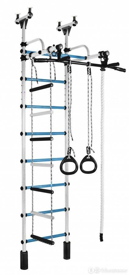 Формула Здоровья ДСК Жирафик белый-голубой по цене 8791₽ - Шведские стенки, фото 0