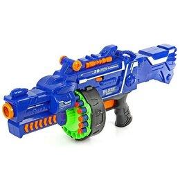 Игрушечное оружие и бластеры - Бластер - Сармат, стреляет мягкими пулями, работает от батареек, 0