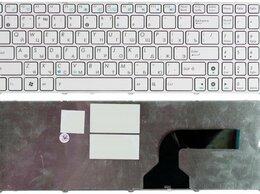 Клавиатуры - Клавиатура для ноутбука Asus K52 белая, 0
