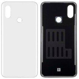 Корпусные детали - Задняя крышка для Xiaomi Mi8 White стекло, 0