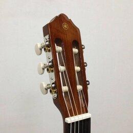 Акустические и классические гитары - Yamaha C40 Гитара классическая, размер 4/4, цвет натуральный, глянцевый лак, 0