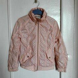 Куртки и пуховики - Летняя розовая ветровка для девочки рост 134, 7-8 лет, 0