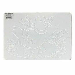 Доски - Доска для лепки А4, 297х210 мм, ЛУЧ, белая, с…, 0