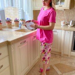 Домашняя одежда - Пижама новая Домашний костюм размер 46,48,50,52, 0