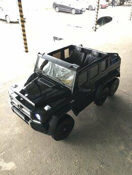 Электромобили - Детский электромобиль Mercedes-Benz G63-AMG 4WD, 0