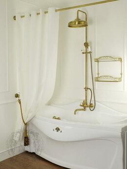 Шторы и карнизы - Шторка для душа/ванны Migliore белая, 0