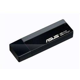 Оборудование Wi-Fi и Bluetooth - Wi-Fi адаптер asus USB-N13, 0