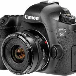 Фотоаппараты - Canon 6D Canon 35 2.0, 0