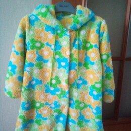 Домашняя одежда - Халат с капюшоном детский махровый, 0