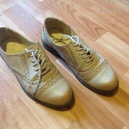 Ботинки - продам полуботинки из прессованной кожи 37 р-р, мало б/у, 0