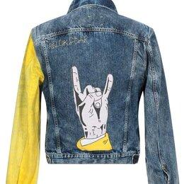 Куртки - Джинсовая куртка 'Tpatch' (Оригинал, Италия), 0