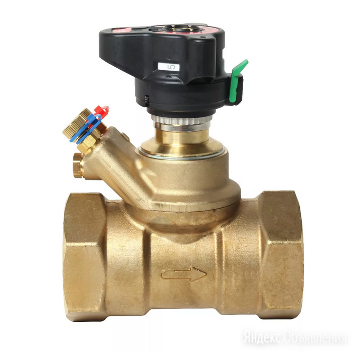 ASV-P клапан балансиров. Ду-40 (003L7625) по цене 23833₽ - Элементы систем отопления, фото 0