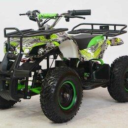 Машинки и техника - Детский электроквадроцикл MotoLand (Мотолэнд) ATV E006 800Вт (машинокомплект) (, 0