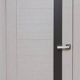 Межкомнатные двери - Дверь 70см ДО «Пиано» дуб молочный ПВХ, 0